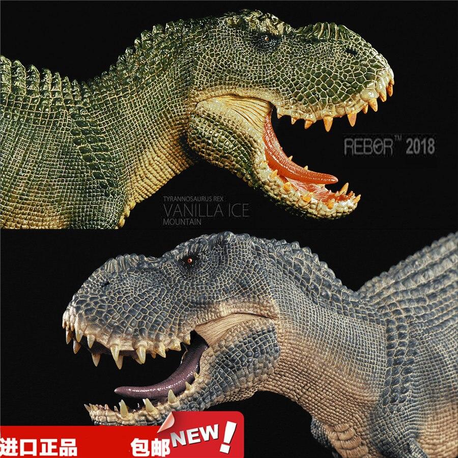 REBOR jurassique dinosaure modèle jouet diamant tyrannosaure détruit roi Dragon Super tyrannosaure figurine d'action modèle jouet