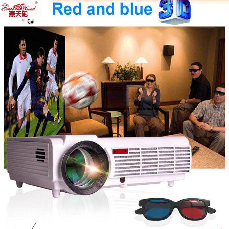 5500 Lumens Smart Lcd Tv Led Projector Full Hd Support: Poner Saund 5500 Lumens Smart Android 4.4 Lcd Tv Led