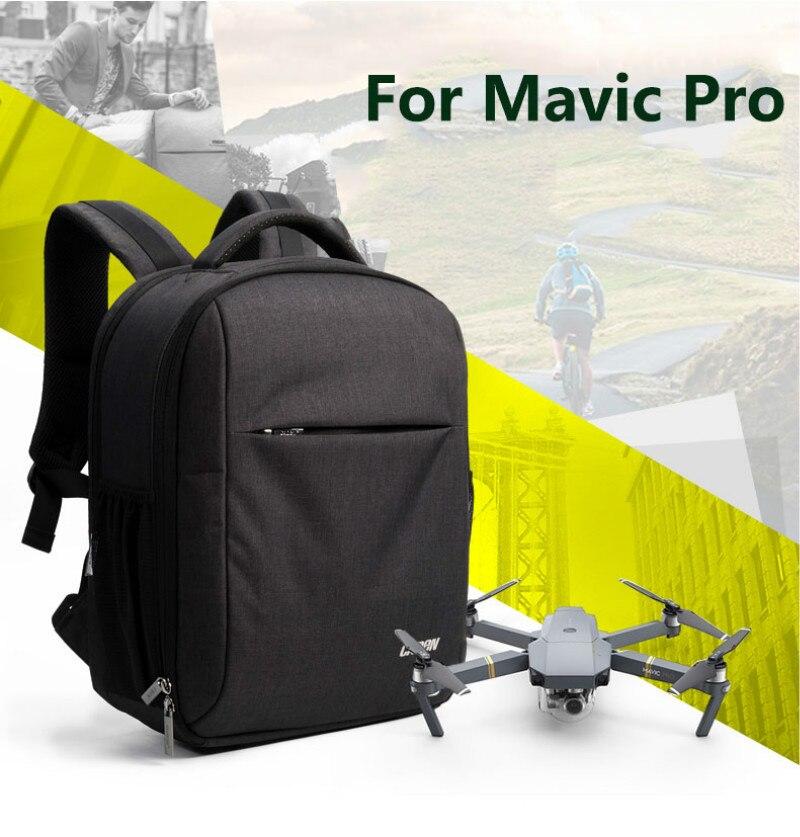 Drone Backpack Bag for DJI Mavic Hard Case Multi-functional UAV Bags for Mavic Pro Camera Backpacks for DSLR DJI Drone W9
