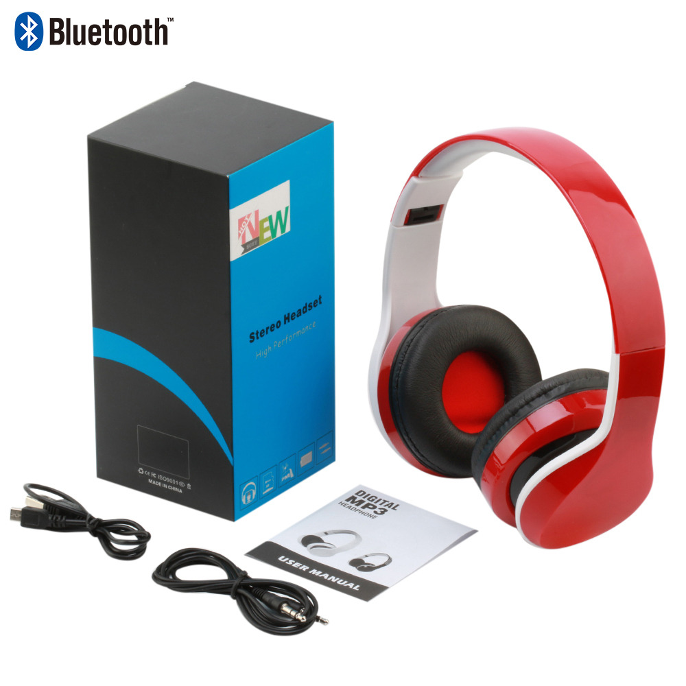 Magift headphones Support TF Card FM Radio Wired wireless headphones ...