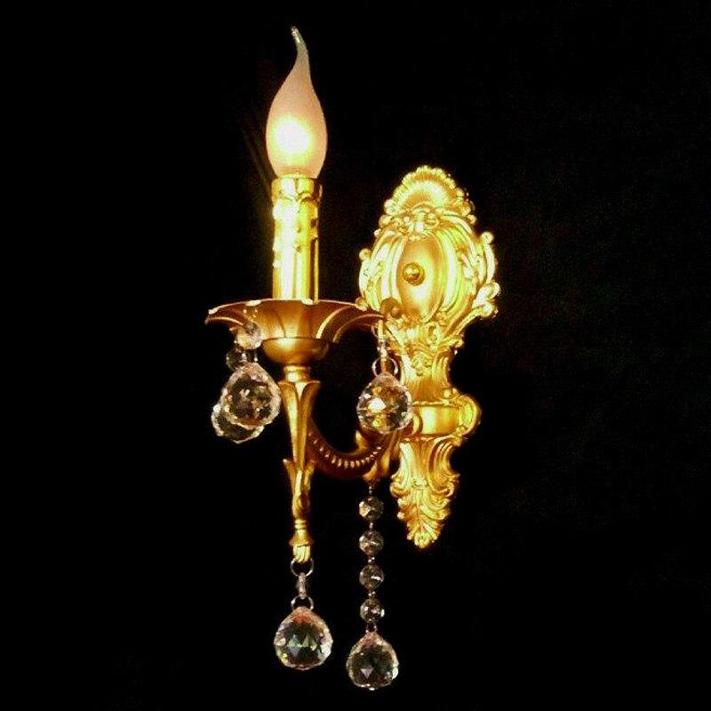 2016 Jedna / dvě žárovky Evropský styl Vintage Retro nástěnné lampy Pastorální styl Železná květina Modelování Ložnice Noční lampičky