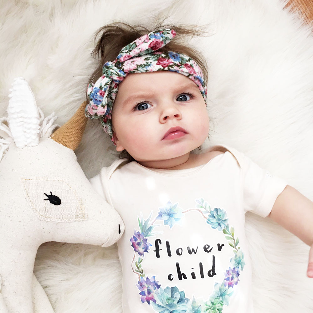 Detail Feedback Questions about Baby Girl Tie Knot Bow Headband ... 7218508ae10