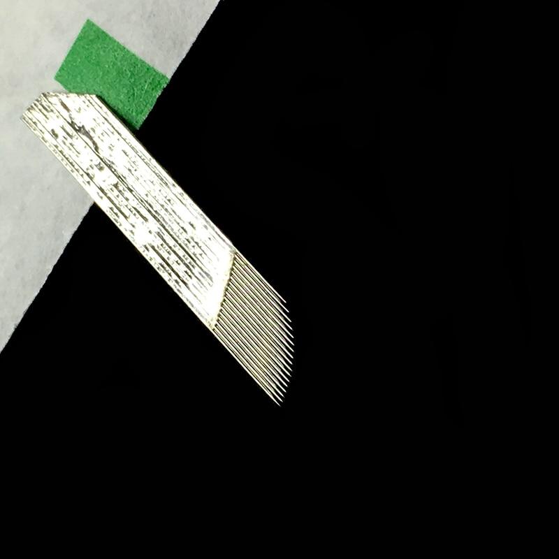 Schönheit & Gesundheit 0,25mm 17 Pin Microblading Nadeln Permanent Makeup Augenbrauen Klinge Für 3d Stickerei Manuelle Tätowierung Stift Belebende Durchblutung Und Schmerzen Stoppen