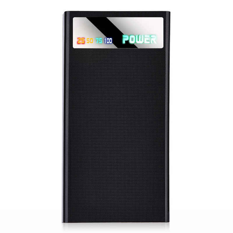 Power Bank 20000mah (bez baterii) Port USB dla Xiaomi Huawei ładowarka do telefonu komórkowego obudowa z Power bankiem Pover 18650 DIY opakowanie na Power Bank