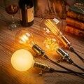 Antique edison vintage retro pingente de luz incandescente de 40 w 220 v lâmpada de filamento lampada para home decor novelty luz dispositivo elétrico