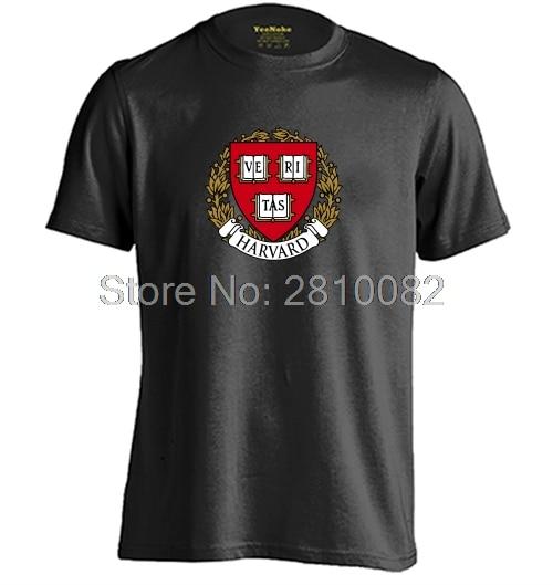 0ba761d1 Harvard University Mens & Womens High quality Tops Cotton T Shirt-in ...