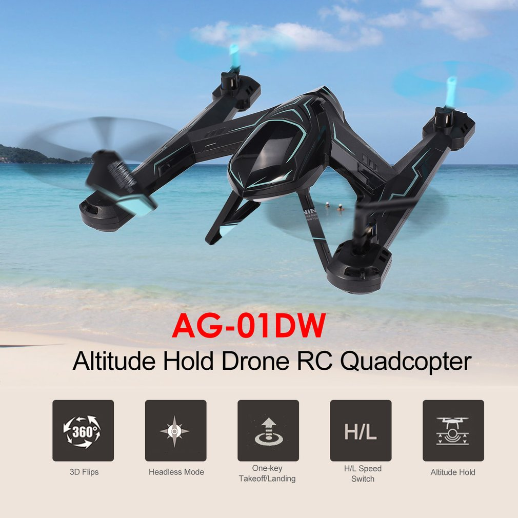 RC Drone Helicopter with HD Camera 2.4Ghz 4 Axis Gyro 4 Channels Remote Control Quadcopter Kits Easy to Fly for Beginners AG-01D 100% brand new remote control helicopter led lights quadcopter 4 channels 360 degree roll over