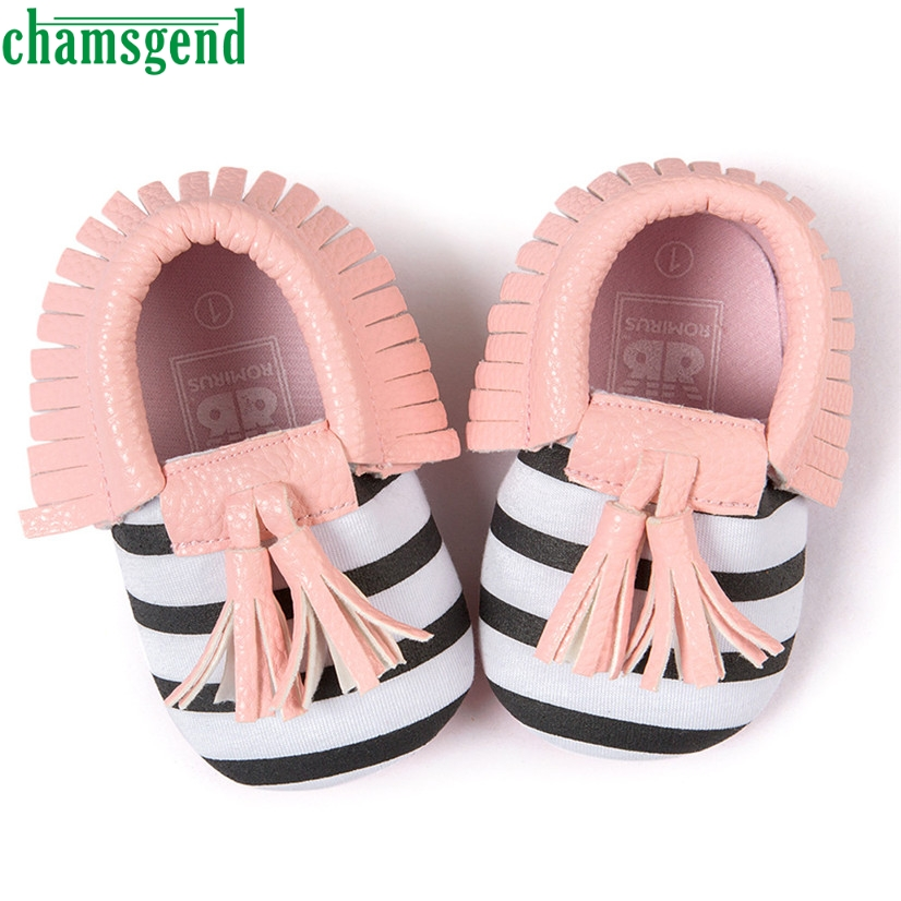 CHAMSGEND Best Seller baby shoes cute lovely autumn winter Baby Crib Tassels Bowknot Shoes Toddler Sneakers Casual Shoes S35