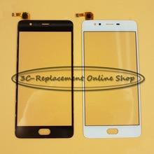 100% getestet Schwarz/Weiß Touchscreen Digitizer Für ZTE Nubia M2 Lite NX573J digitizer touch display Freies verschiffen