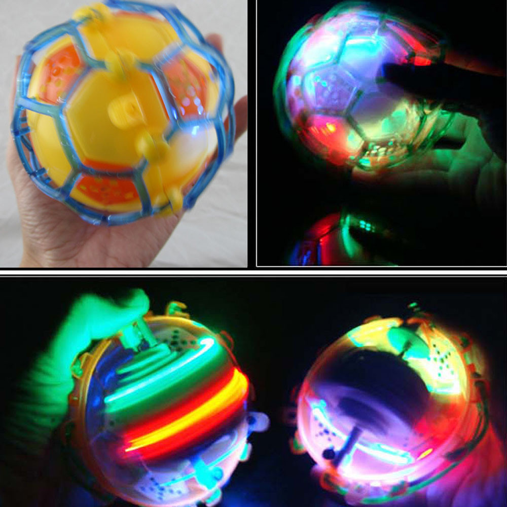 HIINST Baby Kids Toys Football Light Jump Soccer Ball Creative Cute Electric Flash Music Dance Style Drop Shipping Oct11