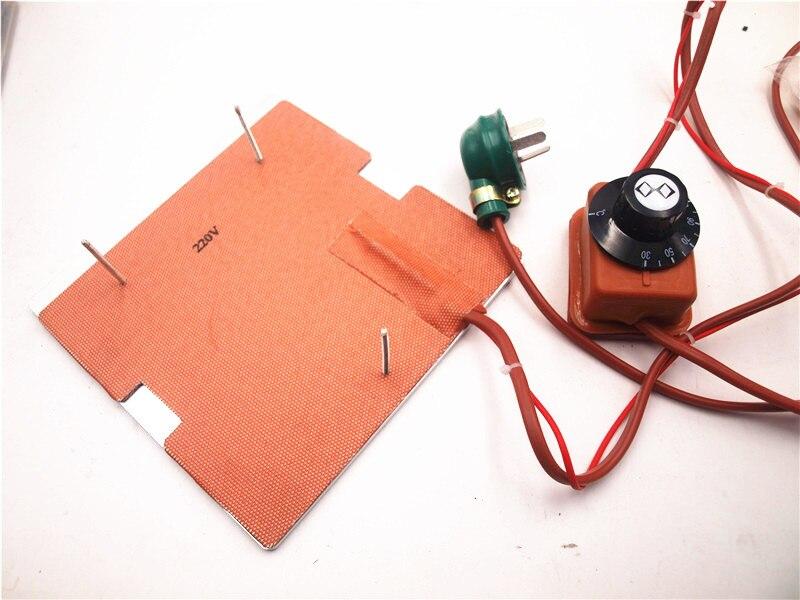 Funssor 120 V/220 V 250 W silicone heater + aluminium bodemplaat + glas verwarmde bed upgrade kit voor Flashforge finder 3D printer-in 3D Printer Onderdelen & Accessoires van Computer & Kantoor op AliExpress - 11.11_Dubbel 11Vrijgezellendag 1