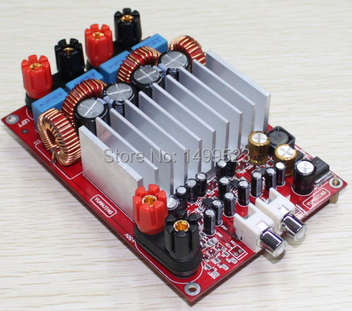 Assembled TAS5630 high-power digital amplifier board (Deluxe Edition) yjhifi tas5630 opa1632dr audio high power digital amplifier board class d 2 300w dc50v hifi diy deluxe edition