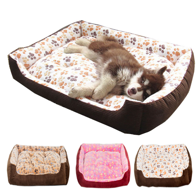 Top Quality Large Breed Dog Bed Sofa Mat House 3 Size Cot