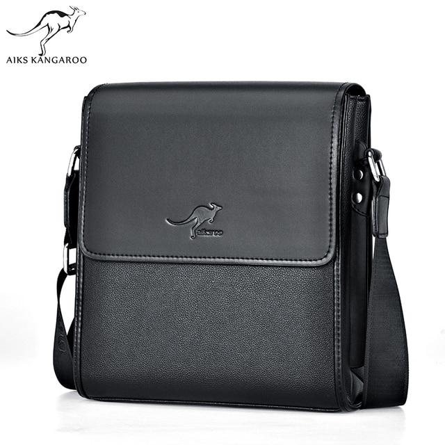 Aiks Kangaroo 2018 Casual Men Bag Luxury Brand Designer Handbags Men s  Messenger Bags Male Crossbody Fashion Man Shoulder Bags 75a9bf3953676