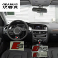 RS S Line Metal Car Door/window Emblem 3D Decoration Stickers Sline Stickers For Audi RS  A3 A4 A5 A6 A7 Q3 Q5 Refit Car styling