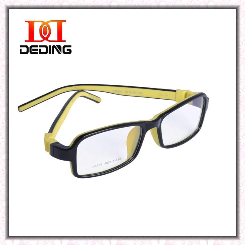 ea59ca3595 DeDing High Quality Tr90 Eyeglasses Boys Silicone Square Full Frame Glasses  Girls 6 Colors Eyewear Frame DD0681-in Eyewear Frames from Apparel  Accessories ...