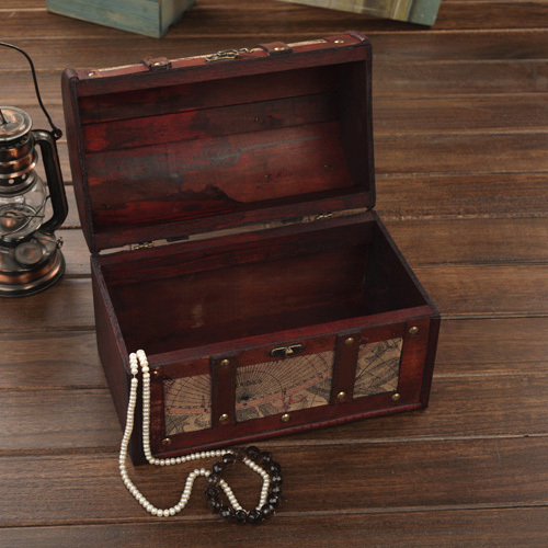 European Antique Wooden Storage Box Large European Retro Clothing Wedding  Photography Props Wooden Box Treasure Chest In Bottles, Jars U0026 Boxes From  Home ...