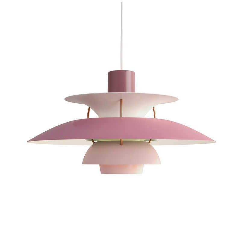 Подвесной светильник в скандинавском стиле E27 с цветным зонтиком, светодиодный подвесной светильник для столовой, светодиодный подвесной светильник, светильник для внутреннего освещения