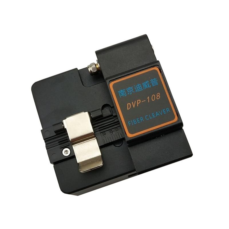 High precision DVP 108 Fiber Optic Cleaver for Single Fibre Applications FTTH Blade life 40000 Fiber Optic Cutter