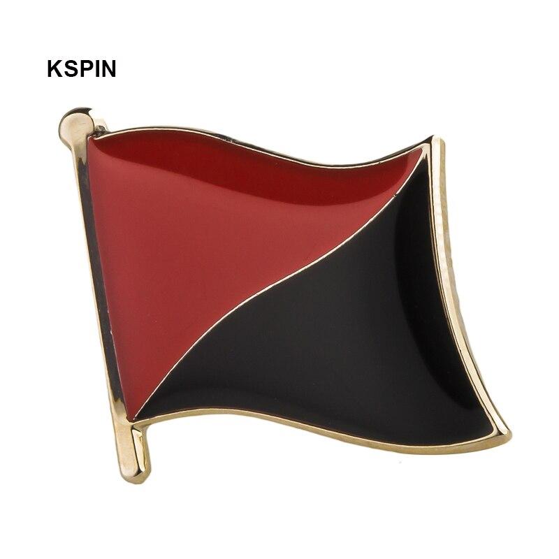 Анархий-коммунистический флаг, нагрудные значки для одежды в нашивках, разные модели бумаг XY0044