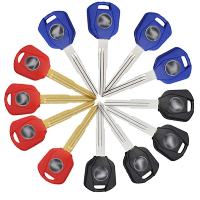 12pcs Blank Key Uncut Blade for Honda Motorcycle CBR1000RR CBR600RR CB900 CBR600 CBR954 F4I F4 New