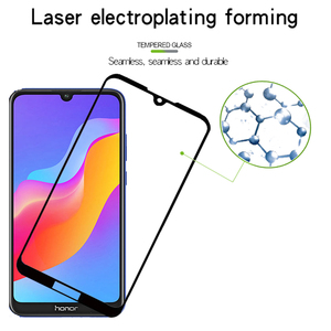 Image 4 - 3D Full Cover Glass On Honor Play 8a Screen Protector For Huawei Honor 8a 8 Honor8a Honor8 a a8 play Tempered Glass Safety Film