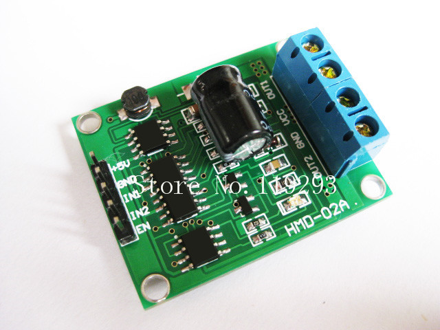 [[BELLA]Smart car power H-bridge DC motor driver module 3-25V 90A send a strong brake c51 code--5PCS/LOT