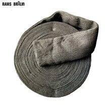 1 кг/рулон стальной проволоки шерстью грубой до тонкой 4# до 00000# ручная полировка шлифовальный коврик