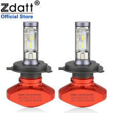 Zdatt H4 H7 Led Bulb H11 H3 LED Fanless Csp Auto Headlights 80W 8000LM H8 H1 9005 9006 HB3 HB4 Car Light 12V Automobiles