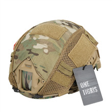 OneTigris Tactical Military Helmet Covers Camouflage Cover Airsoft Paintball Shooting Helmet Accessory for FAST MH/PJ Helmet army military tactical helmet full covered casco airsoft helmet accessories paintball shooting hunting protective helmet