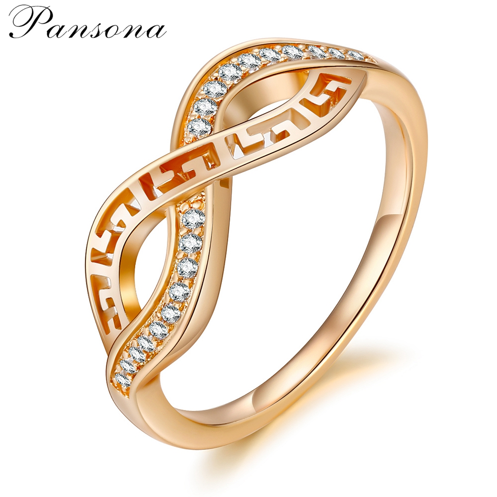 2018 Fashion New Gold Geometric ring birthday gift Stackable Finger Ring For Women Fashion Original Jewelry Gift RG022