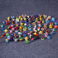 Hight Quality 97pcs/lot  Toys 2-3cm Mini Cartoon Action Kids Toys Action Figure Birthday Christmas Gift Retail