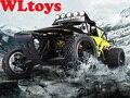 Бесплатная Доставка Wltoys 1/12 4WD High Speed Гонки по бездорожью Автомобиль 50 км/ч Профессионального RC Автомобилей VS WL Игрушки K949 A979 Дрейф автомобиль
