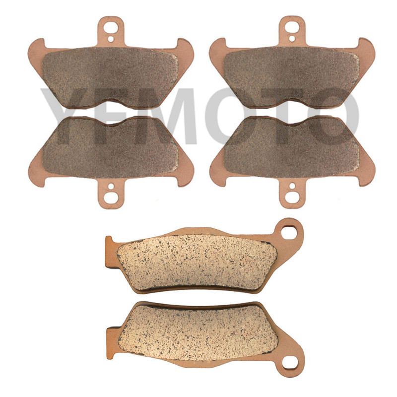Motorcycle Front & Rear Brake Pads Kit For R1100GS R 1100GS 1100 GS R1100 GS 1993-1999 94 95 96 97 98  Brake Disks full set front rear brake discs disks rotors pads for suzuki gsxr 750 94 95 gsx r 1100 p r s t 1993 1994 1995 1996