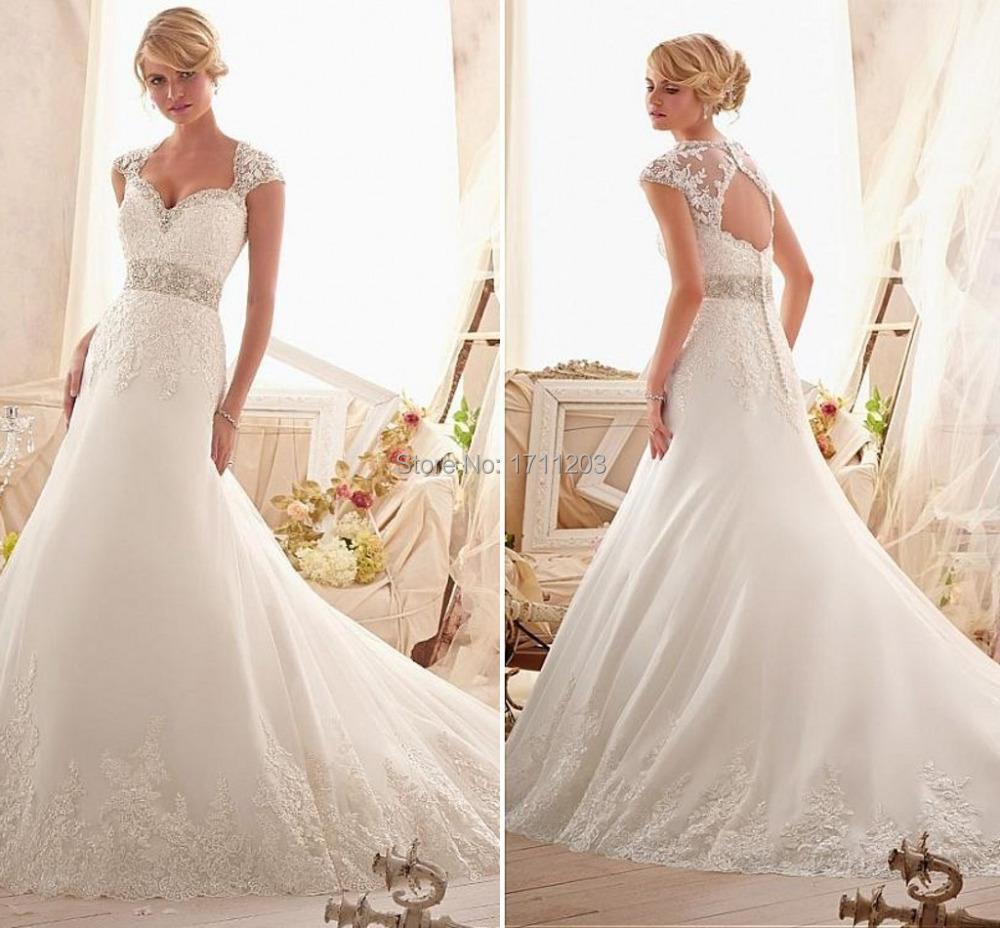 Wedding Gowns Prices In China : Long mermaid wedding dresses romantic beaded lace bridal dress
