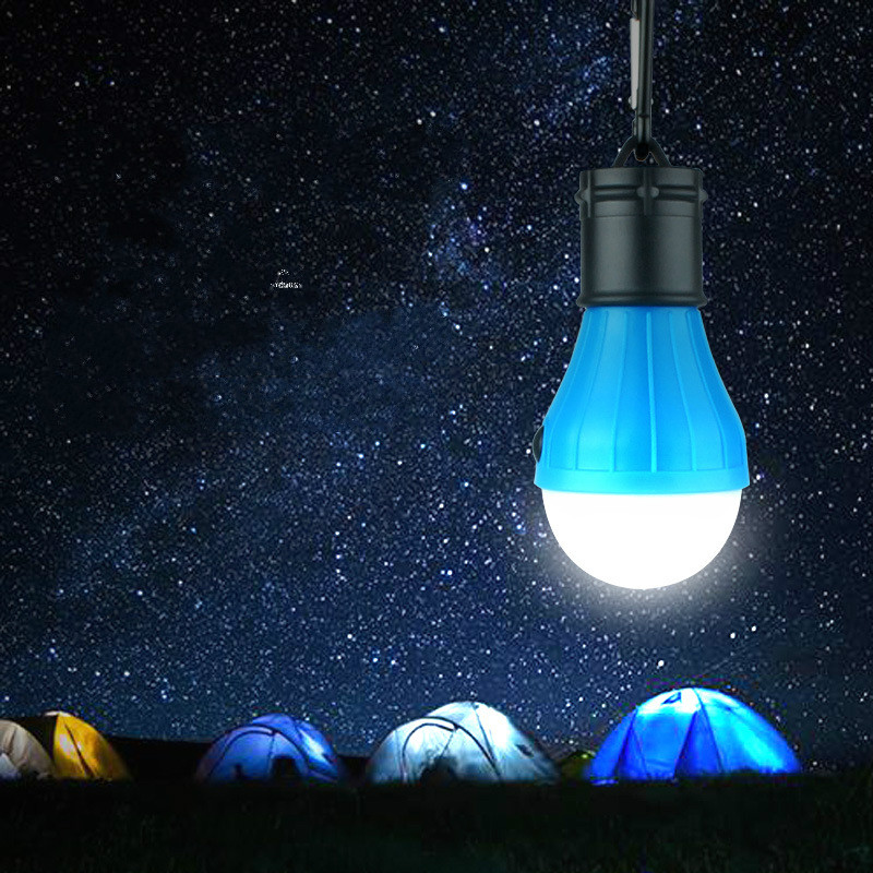 Outdoor camping lights Hook portable led tent light Mini camping lights Adjustable light hanging lamp 4pcs