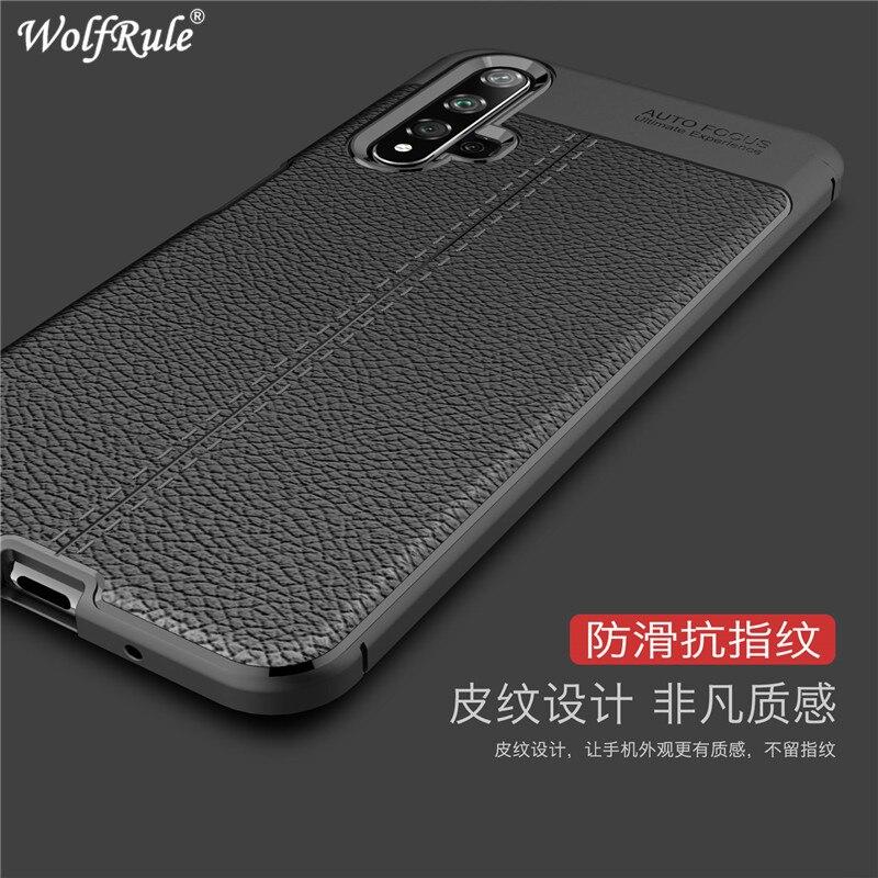 Чехол для телефона Honor 20, ударопрочный роскошный кожаный мягкий чехол из ТПУ, чехол для huawei Honor 20 Pro, Fundas 6,26 дюйма