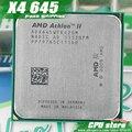 AMD Athlon II X4 645 CPU Процессор Quad-CORE (3.1 ГГц/L2 2 М/95 Вт/2000 ГГц) Socket am3 am2 + бесплатная доставка 938 pin продать X4 640