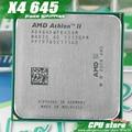 AMD Athlon II  X4 645 CPU Processor Quad-CORE (3.1Ghz/ L2 2M /95W / 2000GHz) Socket am3 am2+ free shipping 938 pin sell X4 640