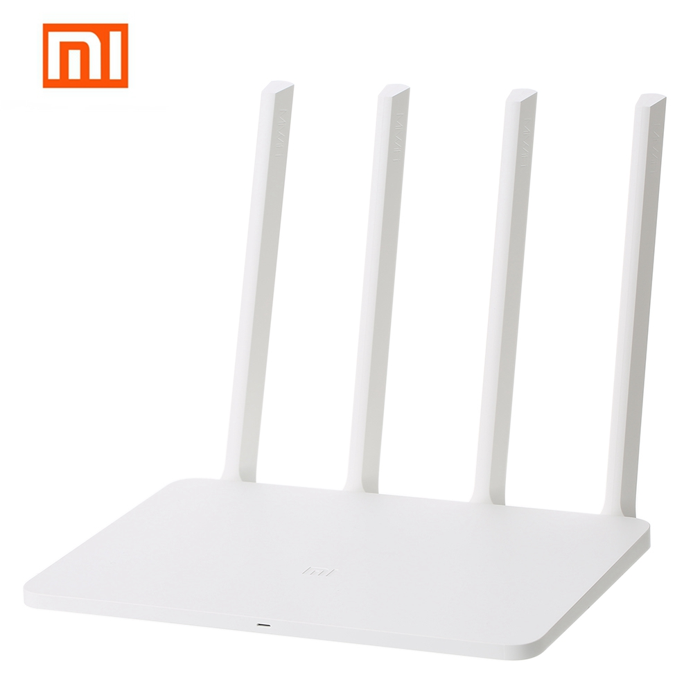Xiaomi MI WiFi Wireless Router 3G 1167Mbps WiFi Repeater 4 1167Mbps 2.4G/5GHz Dual 128MB Band Flash ROM 256MB Memory APP Control original xiaomi mi router pro wifi repeater 2533mbps 2 4g 5ghz dual band app control wifi wireless metal body mu mimo routers