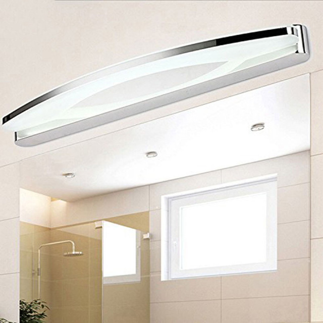 TAMPROAD 12W 8W LED Vanity Light Anti fog Acrylic and Stainless ...