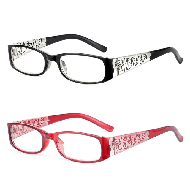 New Reading Glasses Women Presbyopia Eyeglasses Spectacle Diopter Magnifier
