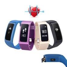 DB04 Смарт Браслет сердечного ритма Мониторы Приборы для измерения артериального давления крови кислородом Мониторы Напульсники Поддержка вызова/SMS напоминание SmartBand