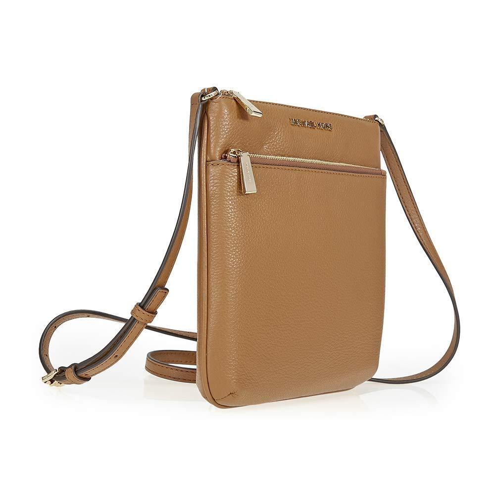 845dd2781dece4 ... Michael Kors Riley Small Pebbled-Leather Crossbody (Acorn/Gold) Luxury  Handbags For ...