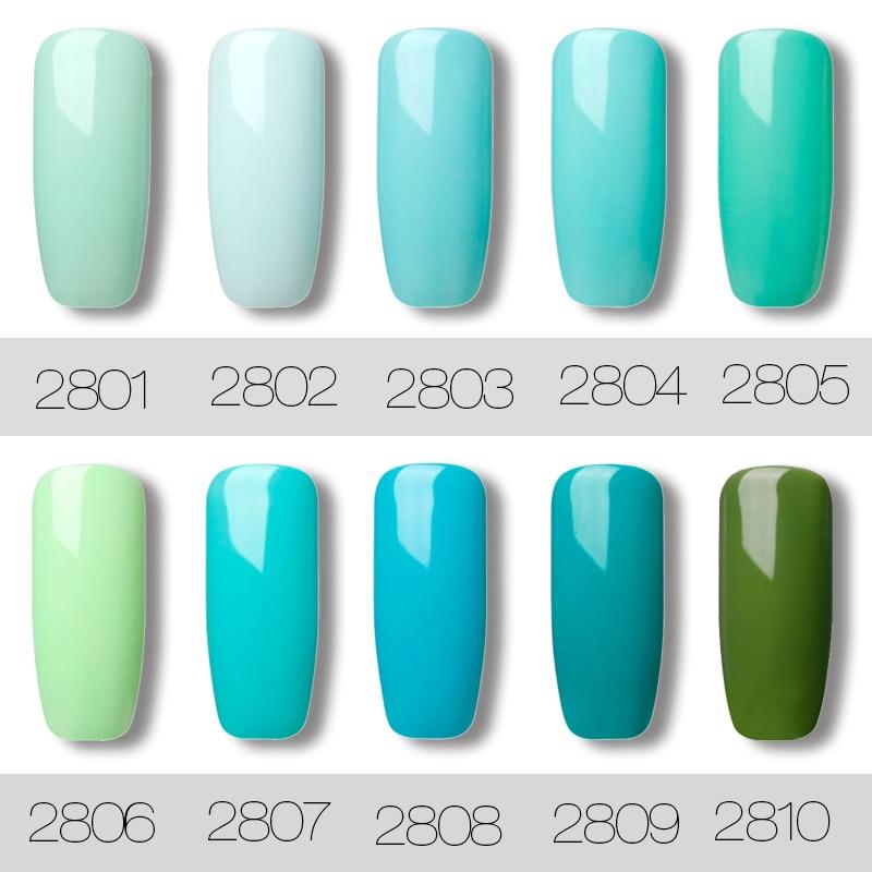 ROSALIND-Gel-1S-7ML-Nail-Polish-Green-color-Series-Nail-Gel-Polish-Vernis-Semi-Permanent-Top