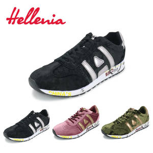 291df9ca859f80 Hellenia size 36-40 shoes big girls fashion sneakers soft casual light sole  outdoor comfortable lace up green black pink