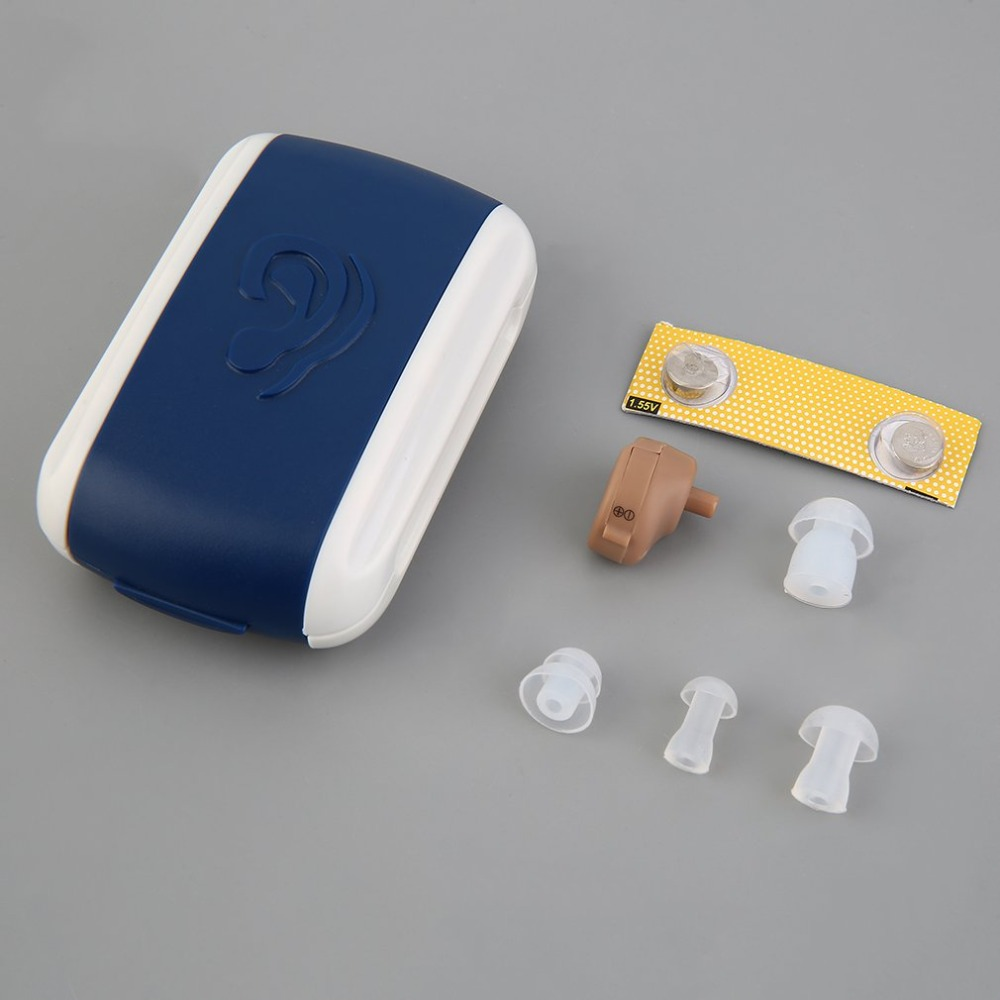 Hearing Aid Aids-Care Sound-Amplifier Small Personal Volume Adjustable Mini New The Ear-Tone