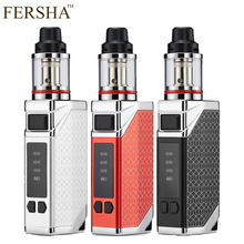 FERSHA e-cigarette mod kit box vape 2200 mah battery 0.35ohm 2.8ml tank Large smoke adjustable Quit smoking Player must