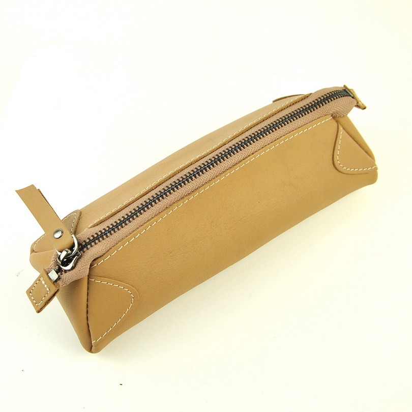 Women Genuine Leather Makeup Bag Beauty Case Cosmetic Vintage Clutch Bags Retro Pouch Fashion Purse Organizer Causal Daily Lady