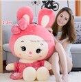 80cm 90cm 1m 1.3m plush dolls gift plush toys pink cute rubbit Stuffed toy Bugs bunny doll stuffed doll girls birthday gift